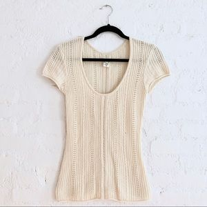 Vintage Cashmere Sweater Top